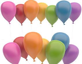 3D asset Ballons