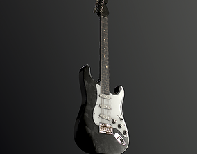 Electric Guitar 3D PBR musical