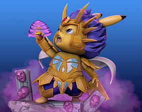3D printable model Pikachu Knight of the Zodiac cancer 2