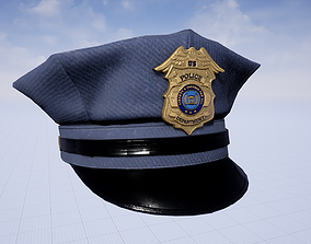 3D asset Police Clothing Pack