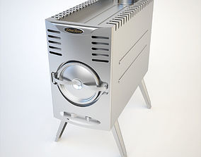 SiberStove Portable Wood-Burning Multipurpose Stove 3D
