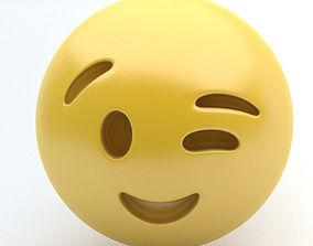 EMOJI wink 3D model