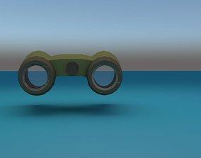 3D asset game-ready binocular