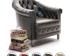 3D Curations Limited Chambery Armchair