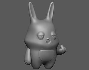 3D print model Bad rabbit