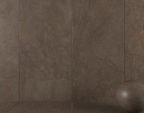 3D Stone Wall Tiles Troia Brown 120x270