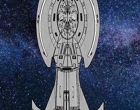 Enigma Class a Star Trek non canon ship 3D printable model