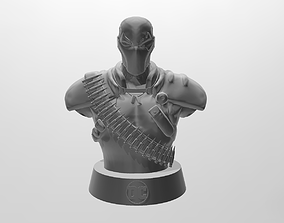Deathstroke Bust 3D printable model