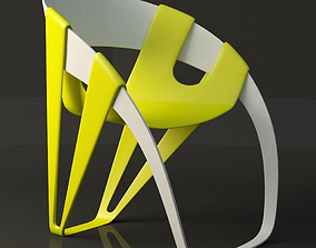 3D asset Dry Leaf Chair