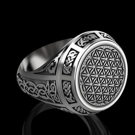 Finger ring 3D print model