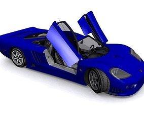 Saleen S7 Twin Turbo 3D asset