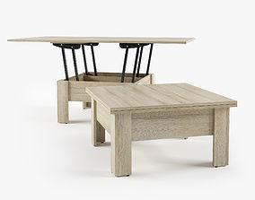 3D Table Coffee Cleo by Zegen