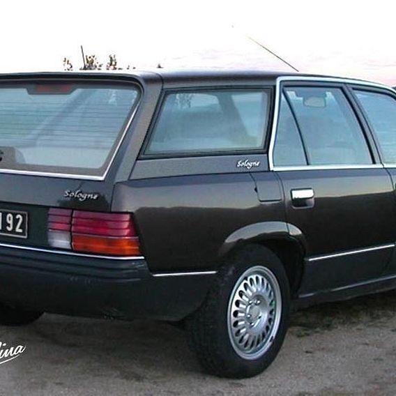 "Renault 25 Break - ""Sologne"" Station Wagon 1985 model project"