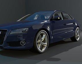 low-poly Audi 3D Car Model