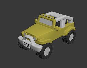 Jeep Wrangler Rubicon 3D printable model