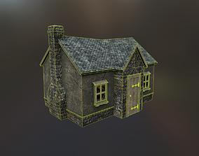 Stone Cottage 3D asset