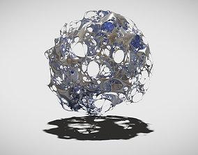 Abstract Organic Ball 3D