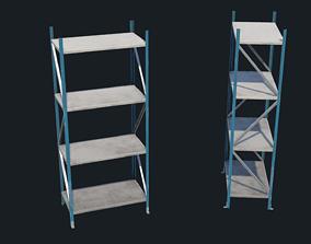 3D asset Storage rack