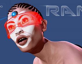 3D model Ram for Genesis 8 Female