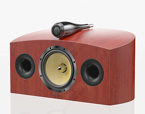 Bowers and Wilkins HTM4 D2 Rosenut 3D
