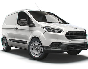 Ford Transit Courier Leader UK-spec 2020 3D
