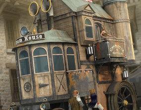 3D model Steam House