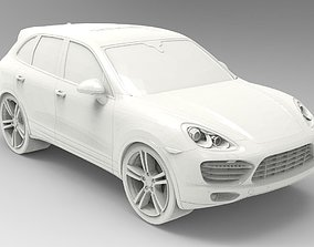Cars - Porsche Cayenne 3D printable model