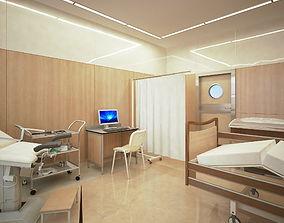 Ginecological ward medical 3D model