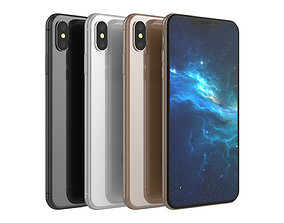 3D model Iphone XS Collection