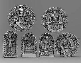 3D print model sculpt Buddha