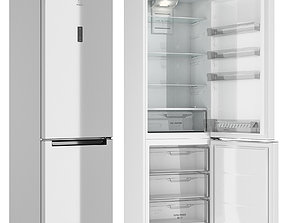 Refrigerator Indesit DF 5200 W opening 3D