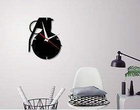 3d Decorative Wall Clock C2 3D printable model
