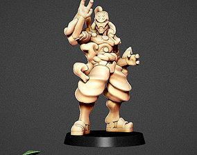 Lightning - Warforged Monk Samurai 3D printable model