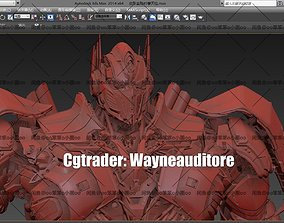 Optimus Prime- The Last Knight Official 3d File animated