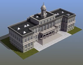 City Hall Building 3D model