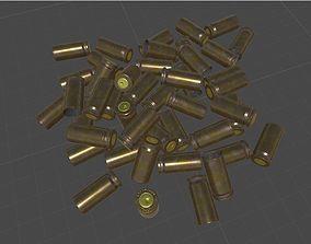realtime 3D bullet shells model