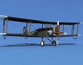 Airco DH-4 Browns Air Service 3D