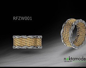 3D print model Turkish Ring for ladies