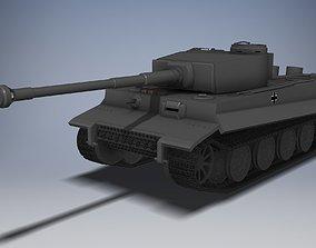 Panzer VI Tiger 3D printable model