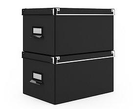 Document Boxes 3D model