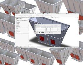 3D Hopper bunker