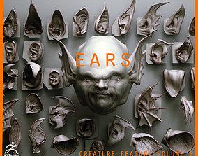 3D EARS - 40 ZBRUSH VDMs