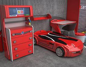 Biturbo Furniture set by Cilek 3D