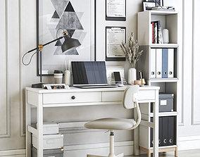 Office workplace 30 3D model