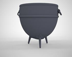 Cauldron 3D asset