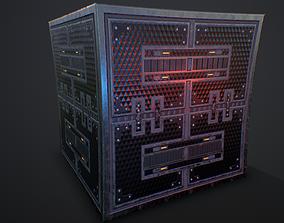 Futuristic PBR Textures P2 Texture 3D model components