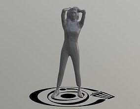 3D asset Human 098 LP R