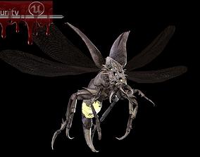 3D model Flying Beetle6