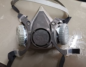 3D printable model Surgical mask filter for 3M 6200 mask
