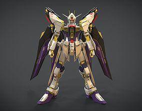 3D model Gundam Strike Freedom
